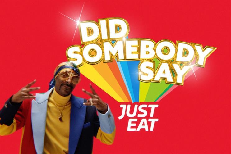 Snoop Dogg débarque dans la nouvelle pub de Just Eat